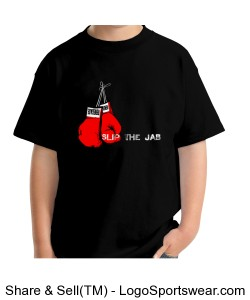 Renegade Youth Slip the Jab Rock the Cross T-shirt Design Zoom