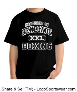Renegade Kids Boxing Tee Design Zoom