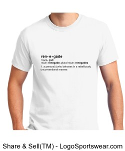 What is a Renegade Tee Design Zoom