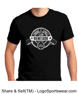Renegade Combat Sports Tee Design Zoom