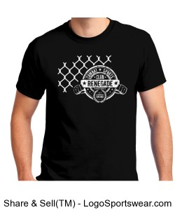 Renegade MMA Cage T-shirt Design Zoom
