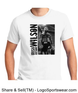 Renegade Irish Anthony Wilson Fight Shirt Design Zoom
